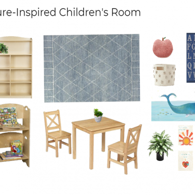 What I'm Loving: Simple, Nature-Inspired Children's Rooms